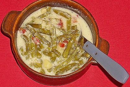 Buttermilch - Bohnensuppe 7
