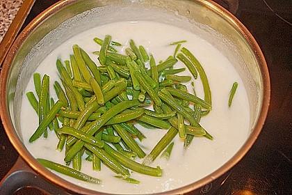 Buttermilch - Bohnensuppe 3