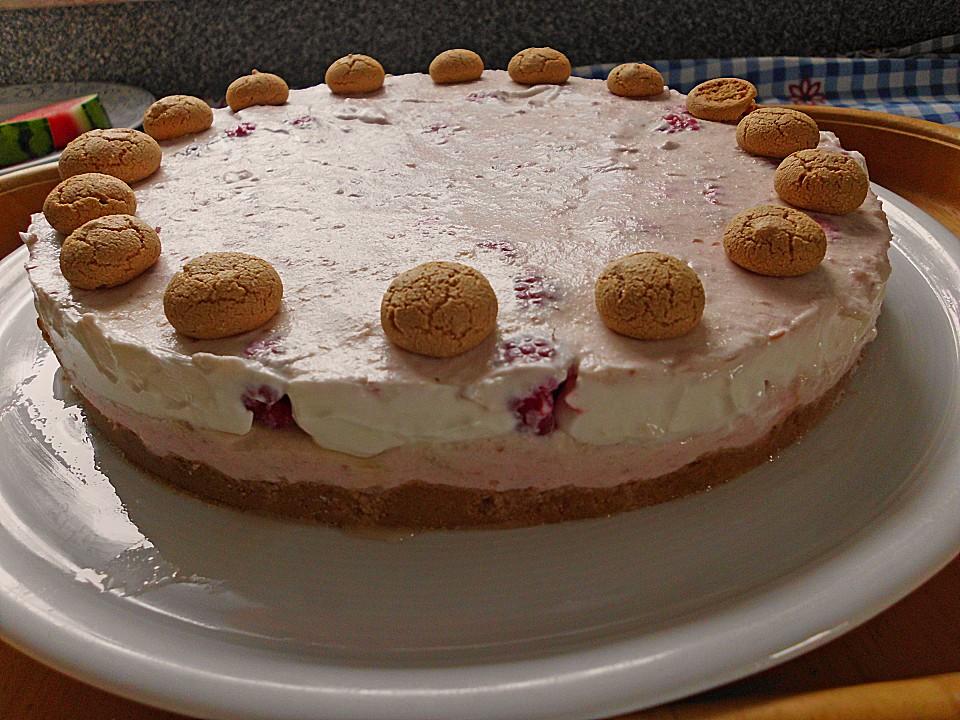 Himbeer Amarettini Torte Von Alina1st Chefkoch De