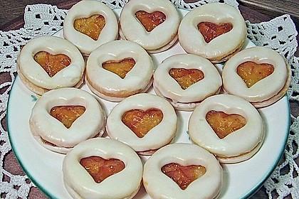 Zitronen Orangen Herz Kekse Von Mima53 Chefkoch De