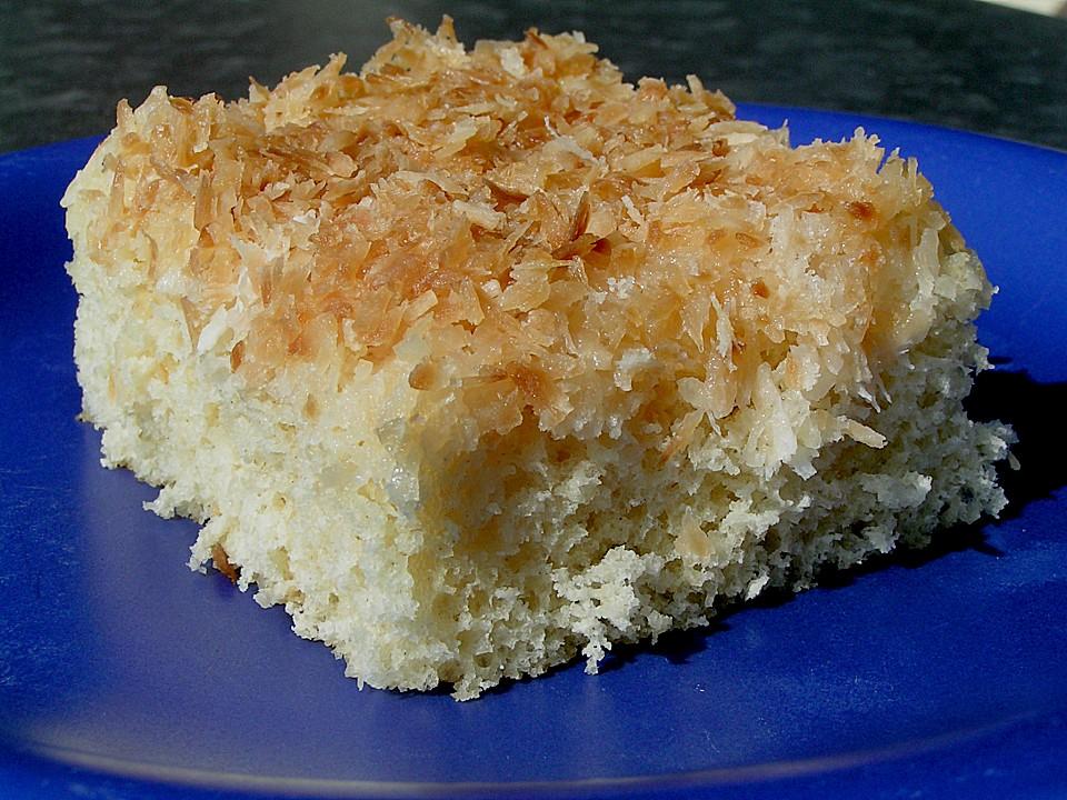 Buttermilch Kuchen Mit Kokos Von Flowerbomb Chefkoch De