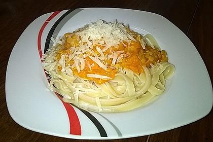 Vegetarische Bolognese mit Linsen