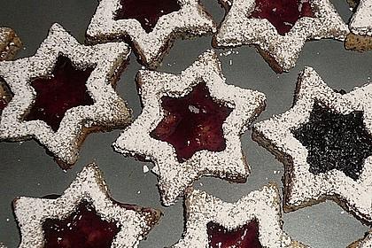 Vanille - Mohn - Himbeer - Sterne 10
