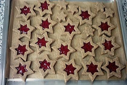 Vanille - Mohn - Himbeer - Sterne 8