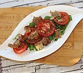 Tomaten - Brot - Salat (Bild)