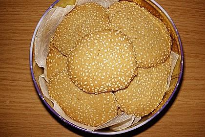 Erdnuss - Sesam - Plätzchen 6