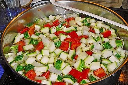 Süß - sauer eingelegte Zucchini 2