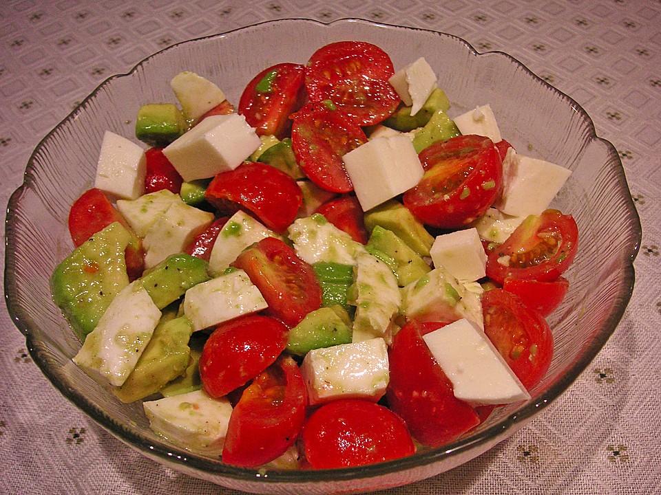 Avocado Tomaten Salat Von Klehmann Chefkochde