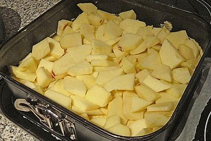Mohn - Apfelkuchen mit Butterstreuseln 10