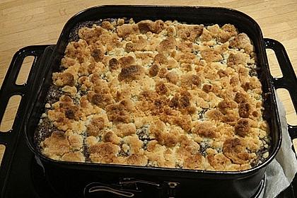 Mohn - Apfelkuchen mit Butterstreuseln 7