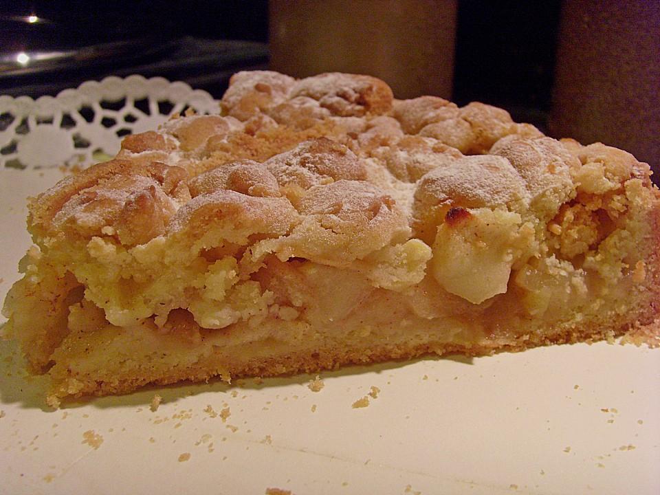 Urmelis Apfel Streusel Kuchen Mit Zimt Von Urmeli75 Chefkoch De