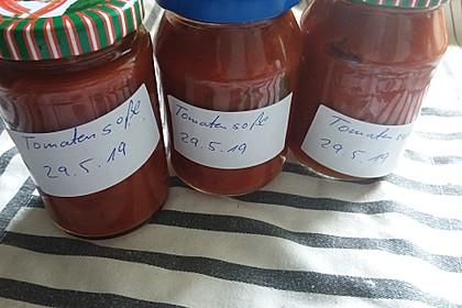 Tomatensoße auf Vorrat (Bild)