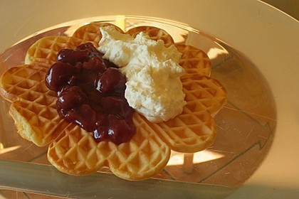Vanille - Joghurt - Waffeln 5
