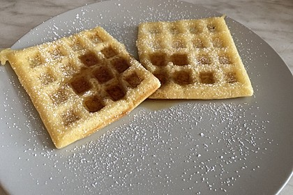 Vanille - Joghurt - Waffeln 4