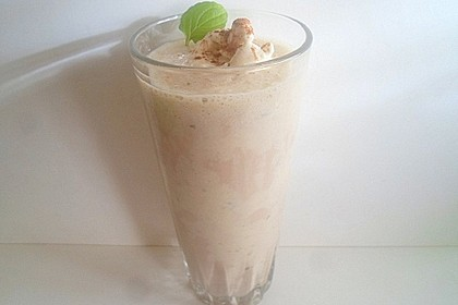 Bananen - Vanilleeis - Kaffee