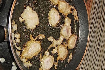 Gebackenes Schweinefleisch süß - sauer 23