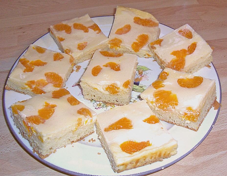 Quarkkuchen Mit Mandarinen Von Hobbykochin25 Chefkoch De