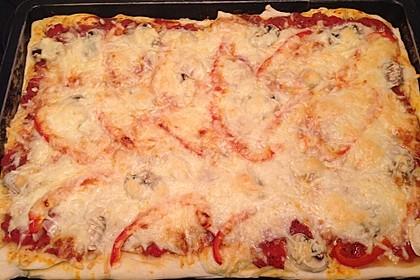 Italienischer Pizzateig 282