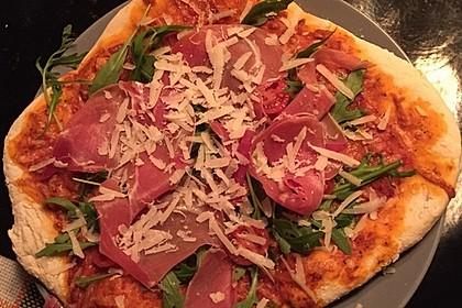 Italienischer Pizzateig 144