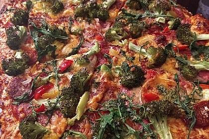 Italienischer Pizzateig 98