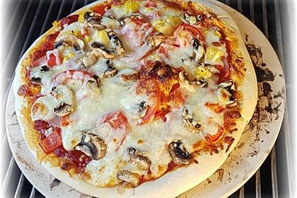 Italienischer Pizzateig (Bild)