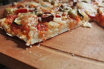 Italienischer Pizzateig 12