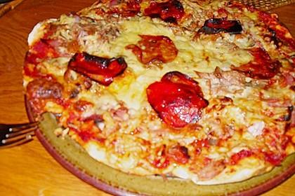 Italienischer Pizzateig 384