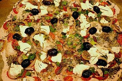 Italienischer Pizzateig 89