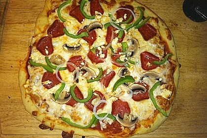 Italienischer Pizzateig 247