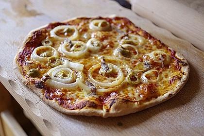 Italienischer Pizzateig 25