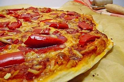 Italienischer Pizzateig 49