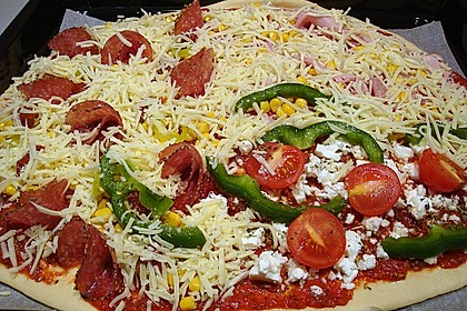 Italienischer Pizzateig 174