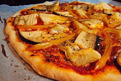 Italienischer Pizzateig 50