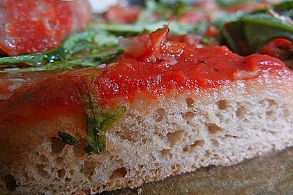 Italienischer Pizzateig 155
