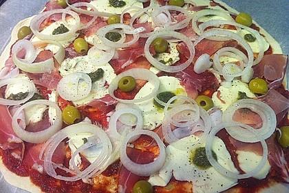 Italienischer Pizzateig 81