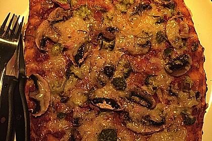 Italienischer Pizzateig 180