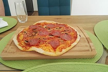 Italienischer Pizzateig 73