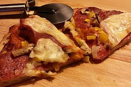 Italienischer Pizzateig 142
