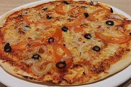Italienischer Pizzateig 30