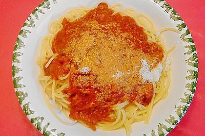 Spaghetti mit italienischer Tomatensauce 1