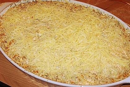 Feuermohns gefüllte Lachs Spinat Cannelloni 16
