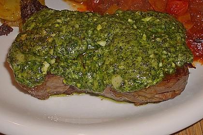 Kräuter - Steaks mit Tomatengemüse 2