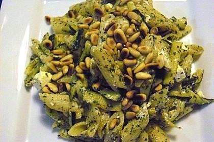 Zucchini - Kräuter - Nudeln 2