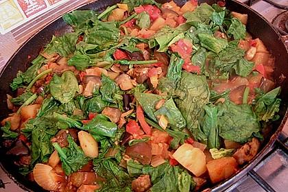 Auberginen - Kartoffel - Curry 2
