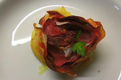Schrats Kartoffel- und Rote Bete-Gratin (Bild)