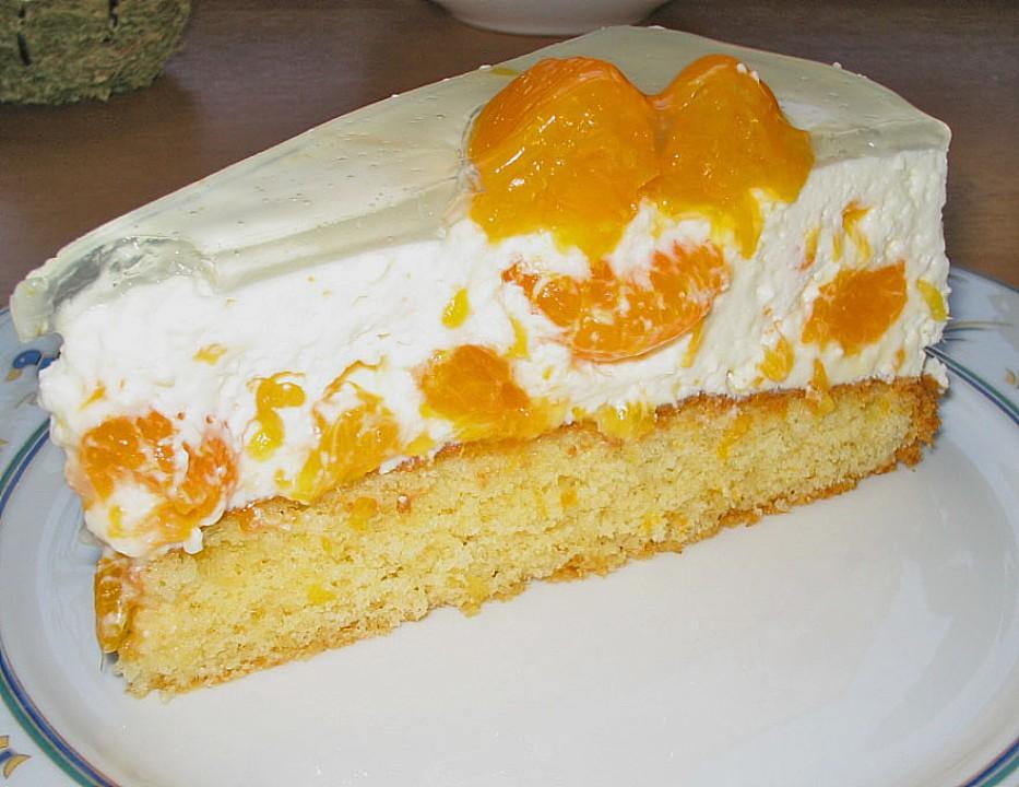 Mohn Mascarpone Torte Mit Mandarinen Von Angelika1m Chefkoch De