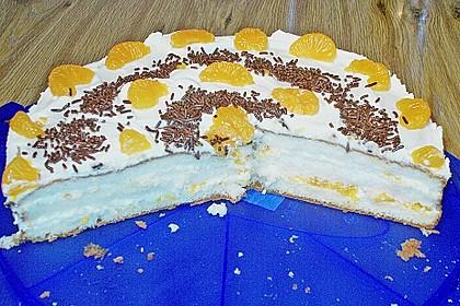 Mandarinen - Torte (Bild)