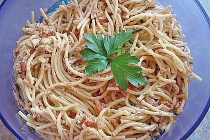 Dieters Nudel - Thunfisch - Salat 1