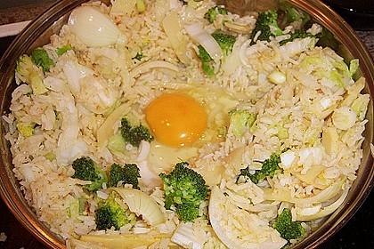Gebratener Reis mit Hühnchen 7