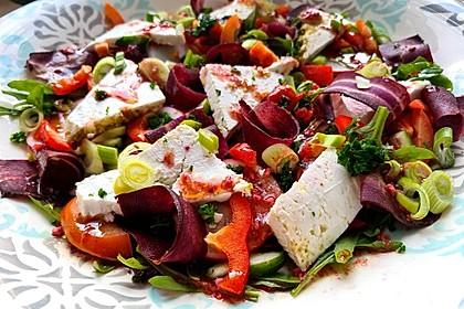 Fitness - Salat mit Feta (Bild)